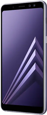 Samsung Galaxy A8 (2018) 32 Gb Orchid Gray Deblocat Foarte Bun