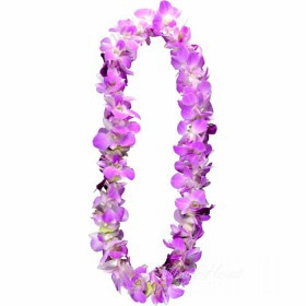 Lei Of Lavender Orchids