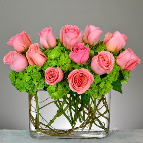 Pink Grace Arrangement