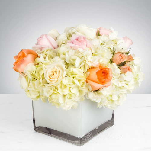 Hydrangeas Floral Arrangement