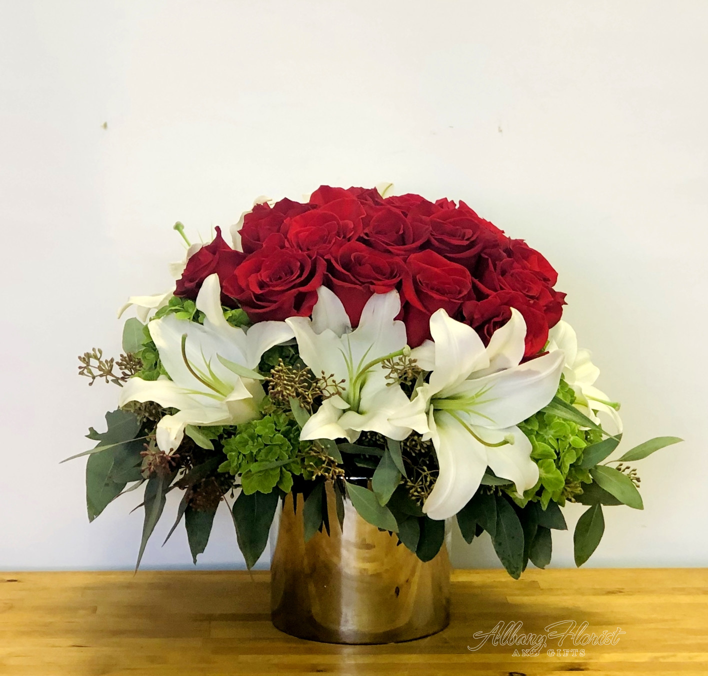 Passionate Red Albany Florist And Gifts