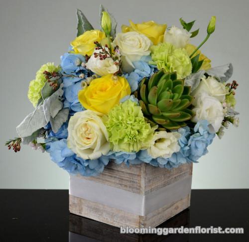 Oh Boy! New baby boy Flowers- B38