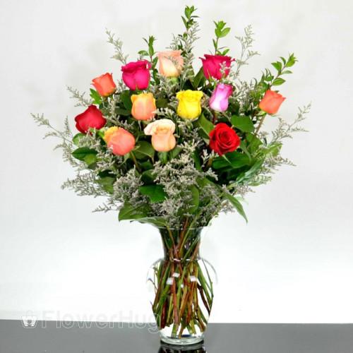 Rainbow Roses - R5