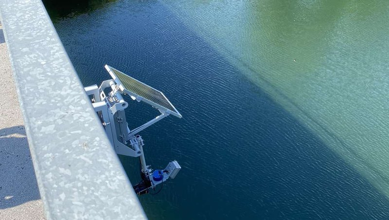 IoT water velocity