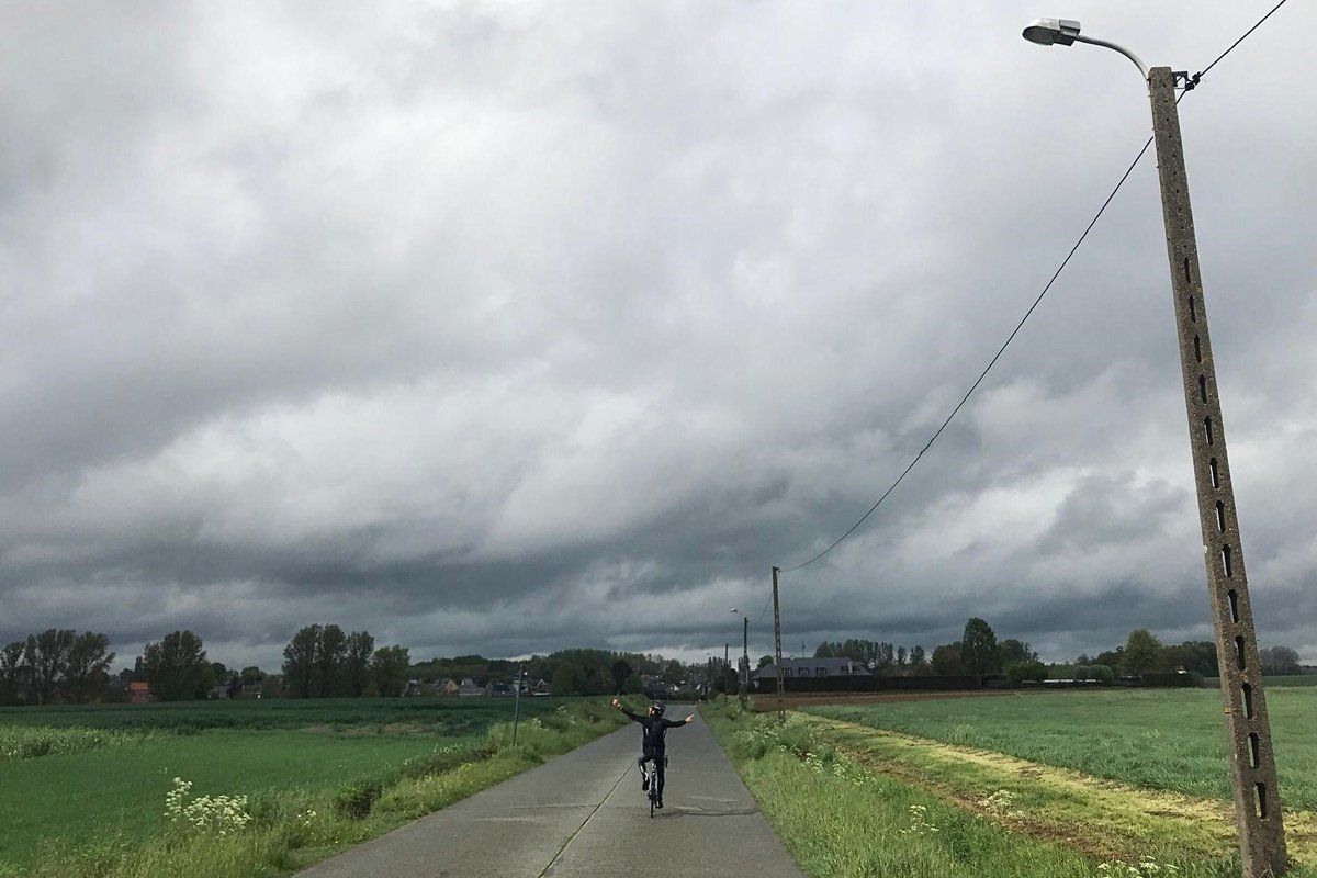 Biking for charity