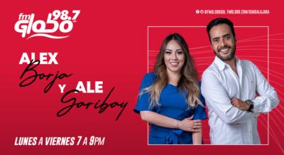 Alex Borja y Ale Garibay