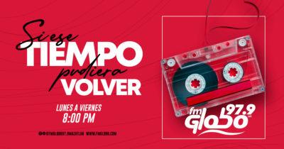 Musica de los 80,s 90s, de Lunes a Viernes a las 8:00 pm