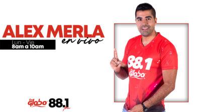 Alex Merla en vivo