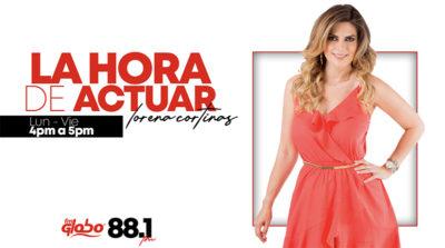La hora de actuar Lorena Cortinas