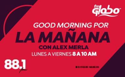 Good Morning por la mañana Alex Merla