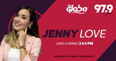 Jenny Love De 3 a 5 PM
