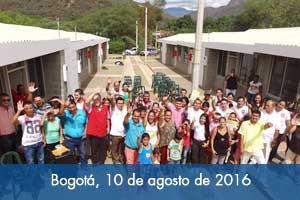 Fondo Adaptación entrega 52 viviendas en Norte de Santander