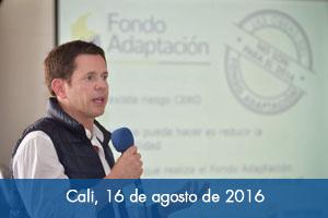 Fondo Adaptación firma convenios por $10.400 millones para proyectos en Valle del Cauca