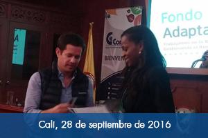 Fondo Adaptación entrega al Valle del Cauca kit para mejorar producción agropecuaria