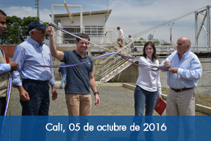Fondo Adaptación junto con Alcaldía y Emcali, entrega obras de refuerzo en la estación de Paso del Comercio