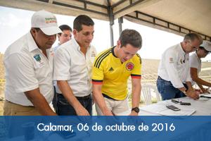 Comienzan obras de protección en los centros poblados del Canal del Dique en Bolívar
