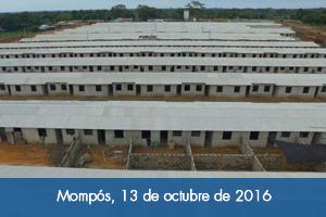 Fondo Adaptación construye ciudadela de 1.000 viviendas en Mompós