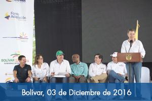 Gobierno Nacional construirá 2.558 viviendas y tres colegios en el sur de Bolívar