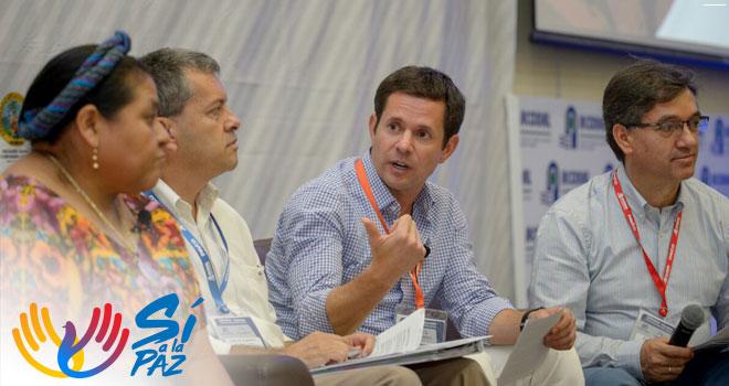Iván Mustafá habla de la adaptación del recurso hídrico en los proyectos de la entidad