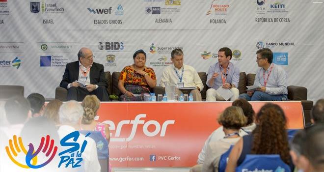 ván Mustafá habla de la adaptación del recurso hídrico en los proyectos de la entidad