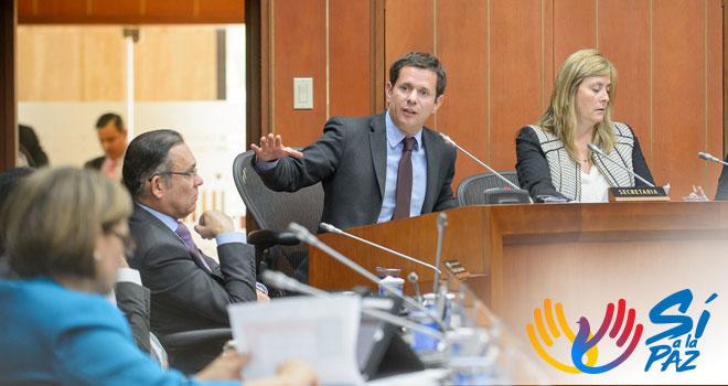 Fondo Adaptación explica macro proyectos de mitigación del riesgo en Comisión de Ordenamiento Territorial