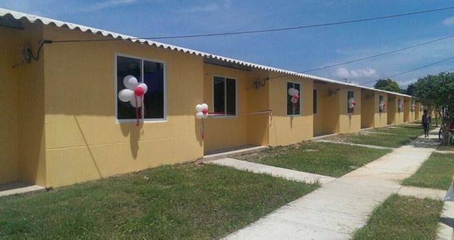 Fondo Adaptación entregó 71 viviendas en Curumaní