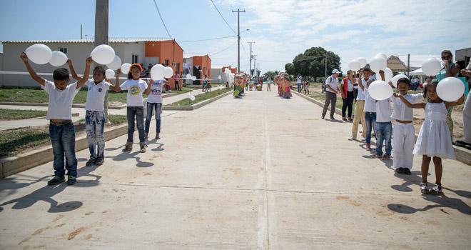 Más de 350 personas estrenan vivienda en Cicuco, Bolívar, gracias al Fondo Adaptación