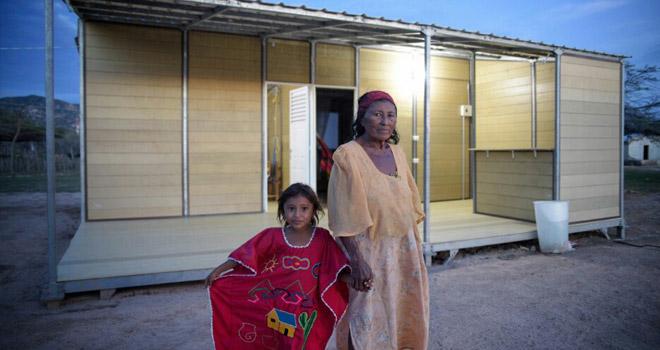 Fondo Adaptación entrega más de 200 casas adaptadas al cambio climático en la alta Guajira