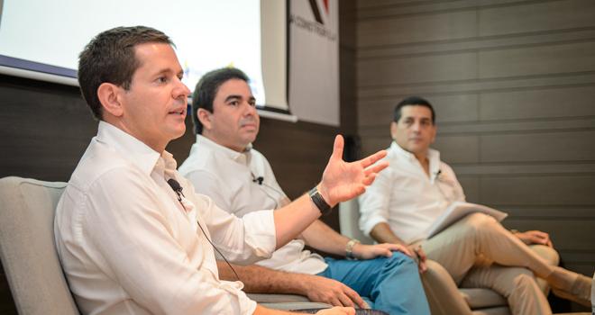 gerente presenta y explica proyecto de Canal del Dique a empresarios de Bolívar