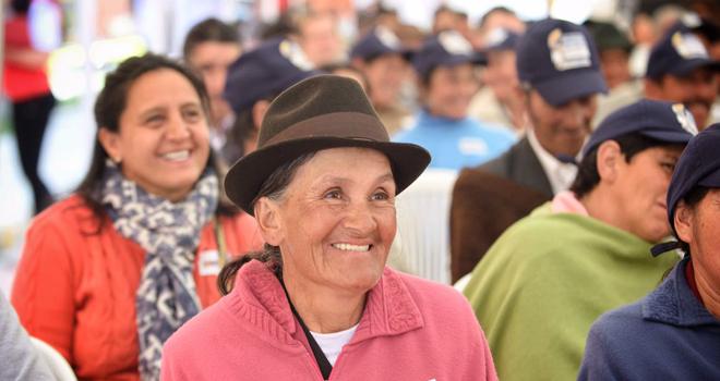 Fondo Adaptación realiza rendición de cuentas en Tunja, Boyacá
