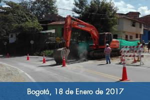 Reinician obras de rehabilitación del alcantarillado en la calle 19 del Socorro-Santander