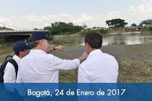 Presidente Santos visita estación Paso del Comercio en Cali