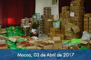 Gobierno abre centros de recepción de donaciones en especie con listado específico de productos