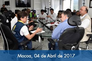 En marcha revisión de proyectos para reconstrucción de Mocoa