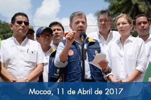 'Todos los gobernadores deben activar el sistema de Gestión del Riesgo': Presidente Santos