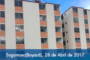 Fondo Adaptación entrega de 40 viviendas en Sogamoso