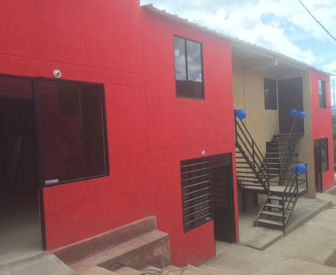 Más de 80 boyacenses disfrutan casa nueva entregada en Tibaná por el Fondo Adaptación
