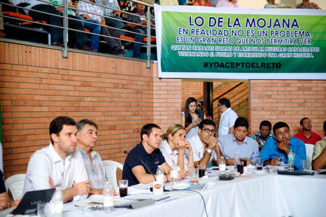 Gobierno Nacional realiza mesa de trabajo con mojaneros