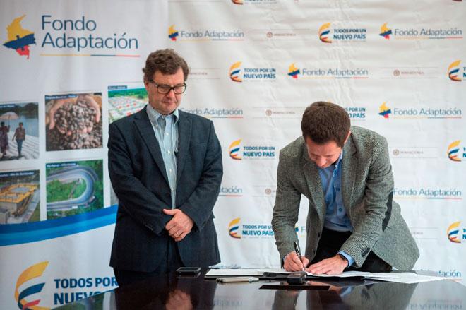 Fondo Adapatacion y ANI firman convenio para estructuración del megaproyecto Canal del Dique