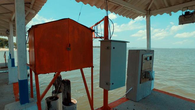 Fondo Adaptación entrega a Ideam 16 estaciones que miden caudal de río Magdalena en el Canal del Dique