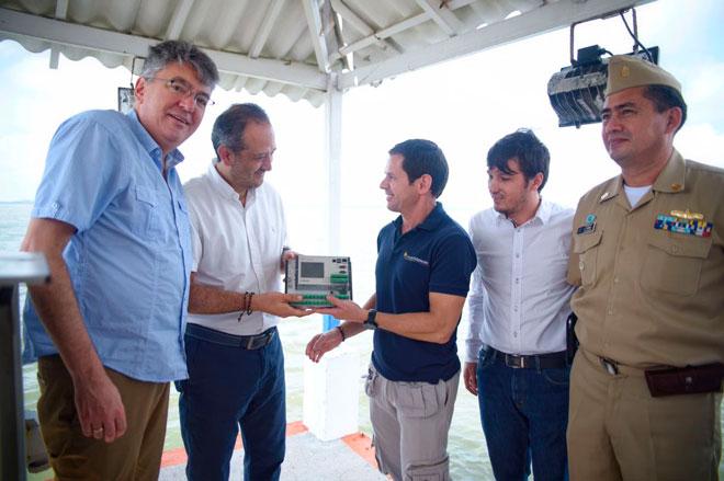 MinHacienda y Fondo Adaptación entregan al Ideam  estaciones para medir caudal en el Canal del Dique