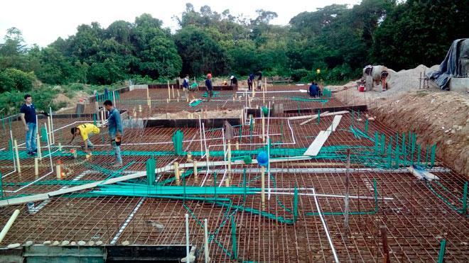 Fondo Adaptación ya construye viviendas para damnificados del invierno en Tibú