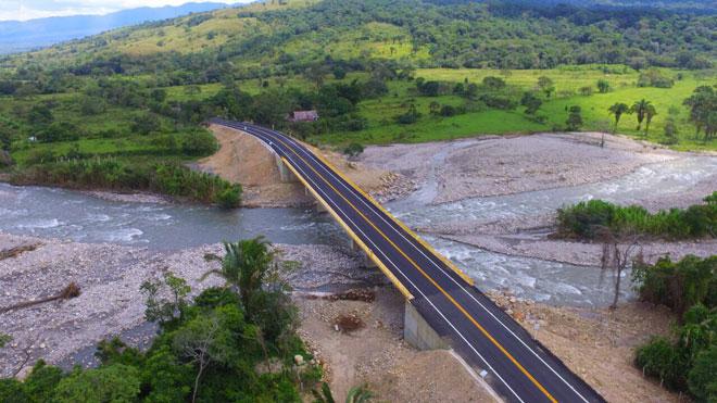 Listo Puente Lopeño, uno de los cinco más importantes entre Tame y Saravena (Arauca)