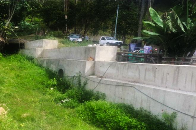 Listos canales de aguas en Suratá para afrontar temporada de lluvias