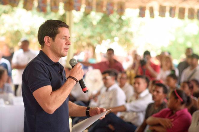 """""""Gambote no deja hacer las obras de protección y se puede volver a inundar"""": Mustafá"""