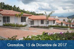 Ya están terminadas 514 viviendas en Gramalote