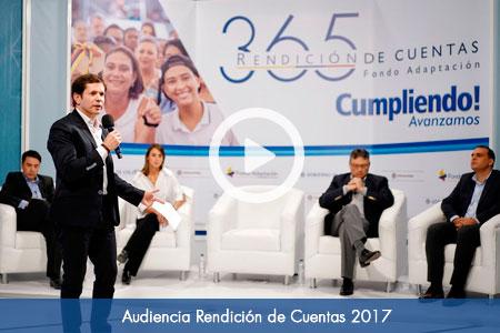 Audiencia Rendición de Cuentas 2017