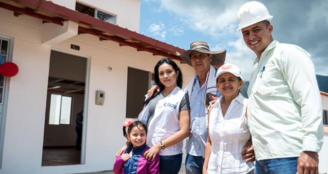 comienza traslado de primeras familias al nuevo casco urbano de Gramalote