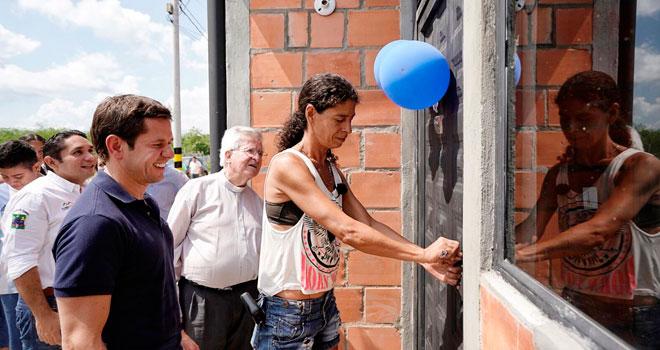 Fondo Adaptación entrega 210 nuevas casas adaptadas al cambio climático en Flandes (Tolima)