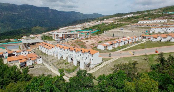 Listo el 80% del nuevo casco urbano de Gramalote